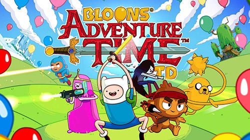 Bloons adventure time TD обложка