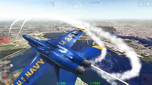 Blue angels: Aerobatic sim screenshot 5