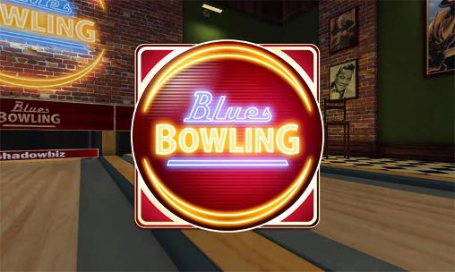 Blues bowling poster