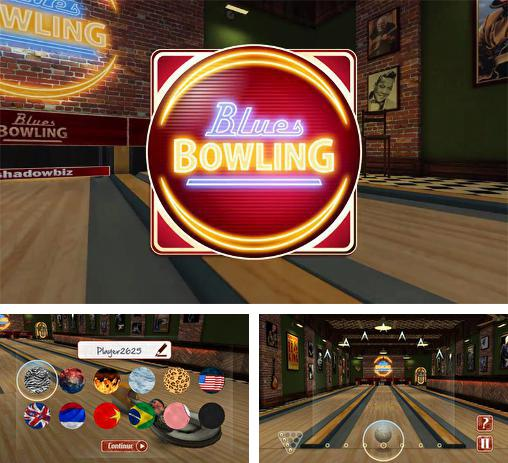 In addition to the game Bowling king: World league for Android phones and tablets, you can also download Blues bowling for free.