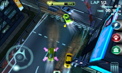 Screenshots do Blur overdrive - Perigoso para tablet e celular Android.