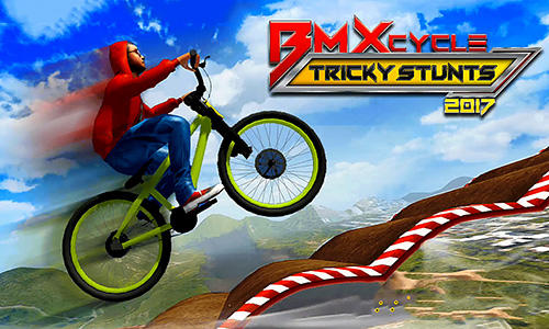BMX cycle tricky stunts 2017 poster