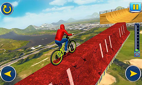 BMX cycle tricky stunts 2017 screenshot 1