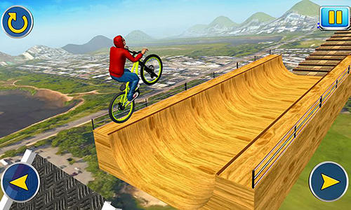BMX cycle tricky stunts 2017 screenshot 2