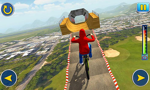 BMX cycle tricky stunts 2017 screenshot 3