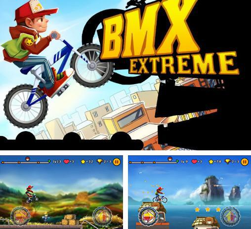In addition to the game Pumped BMX for Android phones and tablets, you can also download BMX extreme for free.