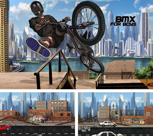 In addition to the game Pumped BMX for Android phones and tablets, you can also download BMX for boys for free.