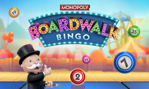 Boardwalk bingo: Monopoly