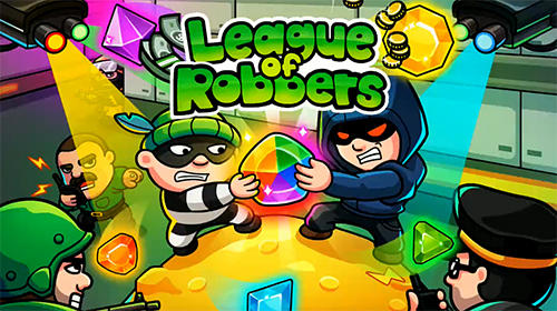 Bob the robber: League of robbers обложка