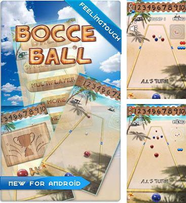In addition to the game Gourmania for Android phones and tablets, you can also download Bocce Ball for free.