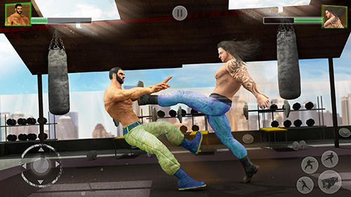 Screenshots von Bodybuilder fighting club 2019 für Android-Tablet, Smartphone.