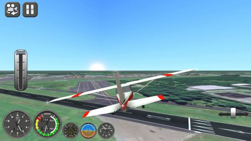 Screenshots von Boeing flight simulator 2014 für Android-Tablet, Smartphone.