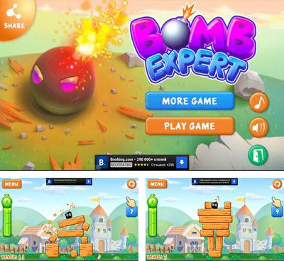 In addition to the game Tiki Towers 2 Monkey Republic for Android phones and tablets, you can also download Bomb Expert for free.