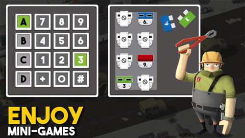 Screenshots von Bomb hunters für Android-Tablet, Smartphone.