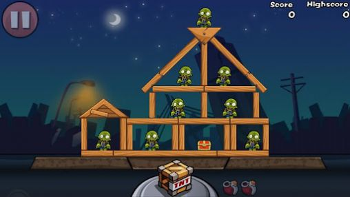 Screenshots do Bomb the zombies - Perigoso para tablet e celular Android.