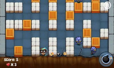 Screenshots do Bomberman vs Zombies - Perigoso para tablet e celular Android.