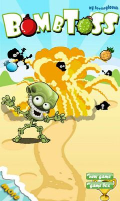 Bombs vs Zombies. Bomb Toss poster