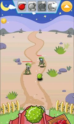 Bombs vs Zombies. Bomb Toss screenshot 4