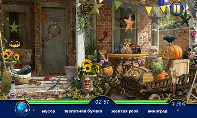 Screenshots of the Bon Voyage Hidden Objects for Android tablet, phone.
