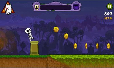 Screenshots of the Boney The Runner for Android tablet, phone.
