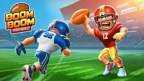 Boom boom football poster