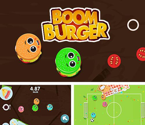 In addition to the game Juicy jelly barrel blast for Android phones and tablets, you can also download Boom burger for free.