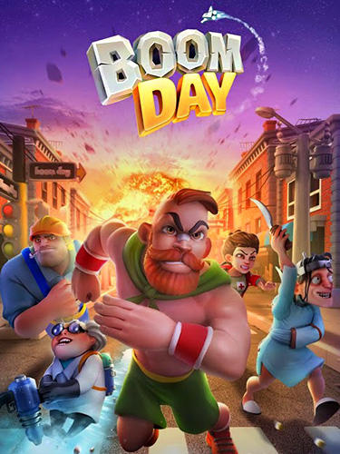 Boom day: Card battle poster