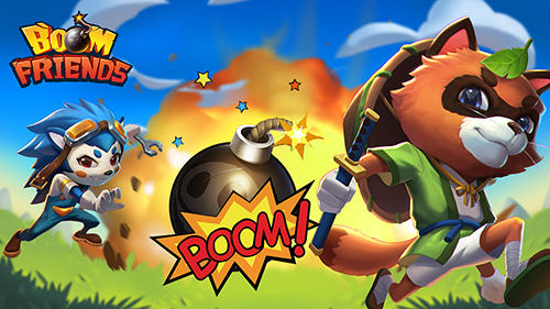 Boom friends: Super bomberman game poster