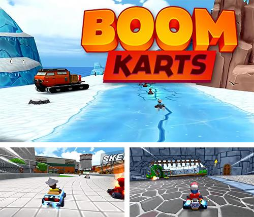 Boom karts: Multiplayer kart racing
