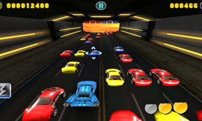 Screenshots of the BoomBoom Racing for Android tablet, phone.