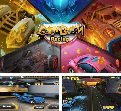 In addition to the game Running Rico Alien vs Zombies for Android phones and tablets, you can also download BoomBoom Racing for free.