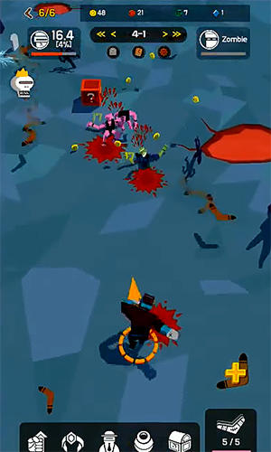 Boomerang evolution: Merge idle RPG screenshot 3
