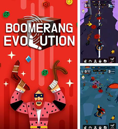 Boomerang evolution: Merge idle RPG