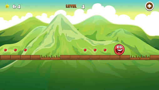 Гра Bossy red ball 4 на Android - повна версія.