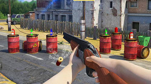 Bottle shooter game 3D