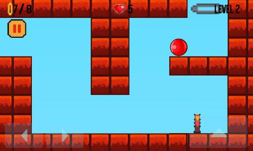 Screenshots von Bounce ball: HD original für Android-Tablet, Smartphone.