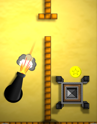 Bounce n bang physics puzzle challenge: Fireball! screenshot 3