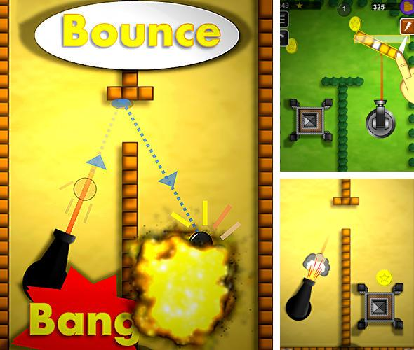 Bounce n bang physics puzzle challenge: Fireball!