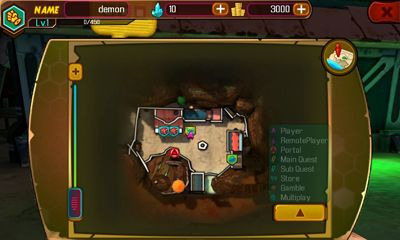 Screenshots von Bounty Hunter: Black Dawn für Android-Tablet, Smartphone.