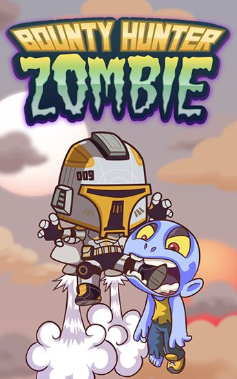 Bounty hunter vs zombie poster