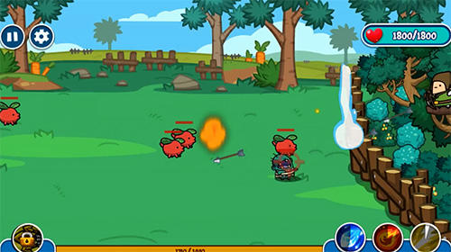 Jogue Bow defence para Android. Jogo Bow defence para download gratuito.