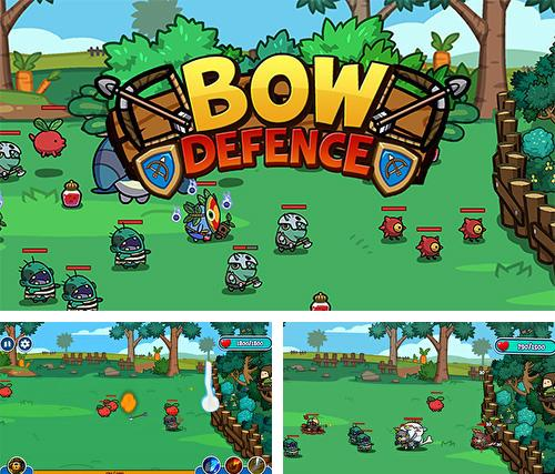 In addition to the game Battlefield dash for Android phones and tablets, you can also download Bow defence for free.