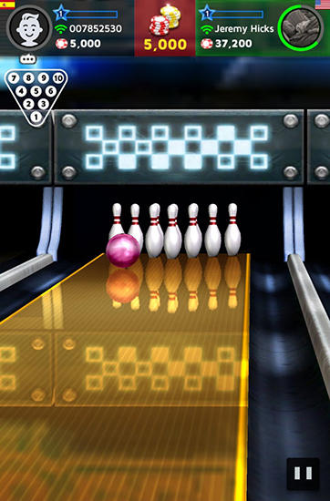 Kostenloses Android-Game Bowling König: Weltliga. Vollversion der Android-apk-App Hirschjäger: Die Bowling king: World league für Tablets und Telefone.