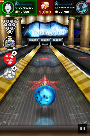 Screenshots von Bowling king: World league für Android-Tablet, Smartphone.