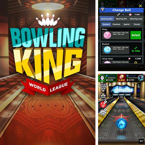 In addition to the game PBA Bowling Challenge for Android phones and tablets, you can also download Bowling king: World league for free.