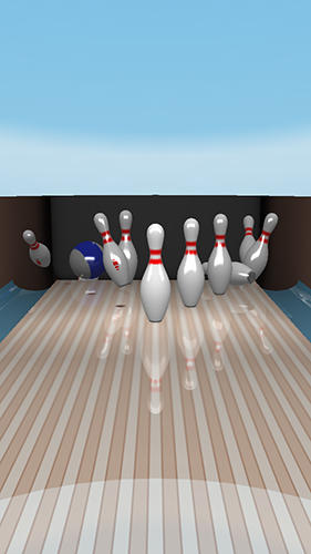 Android タブレット、携帯電話用Bowling online 2のスクリーンショット。