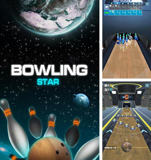 In addition to the game Bowling king: World league for Android phones and tablets, you can also download Bowling star for free.