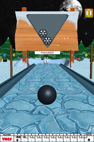 Screenshots von Bowling Xmas für Android-Tablet, Smartphone.