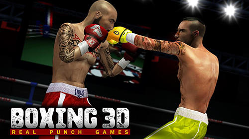 Boxing 3D: Real punch games обложка