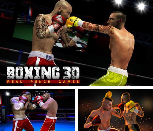 In addition to the game NY punch boxing champion: Real pound boxer 2018 for Android phones and tablets, you can also download Boxing 3D: Real punch games for free.